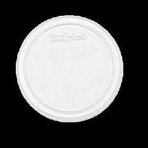 Tampa Plástica Transparente Sem Furo 400 ml e 500 ml – TotalPlast